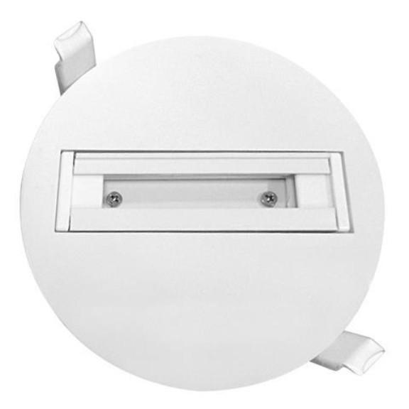 Трек Horoz встраиваемый одиночный для LED светильника белый Код.58433