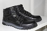 5a2ea7ffa Ботинки мужские кожаные зимние 367/7-13 на шнурках KONORS Anti shock  подошва ПП
