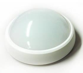 Светодиодный cветильник для ЖКХ Feron AL3003 накладной 8W 4000K круг белый IP65 Код.58494
