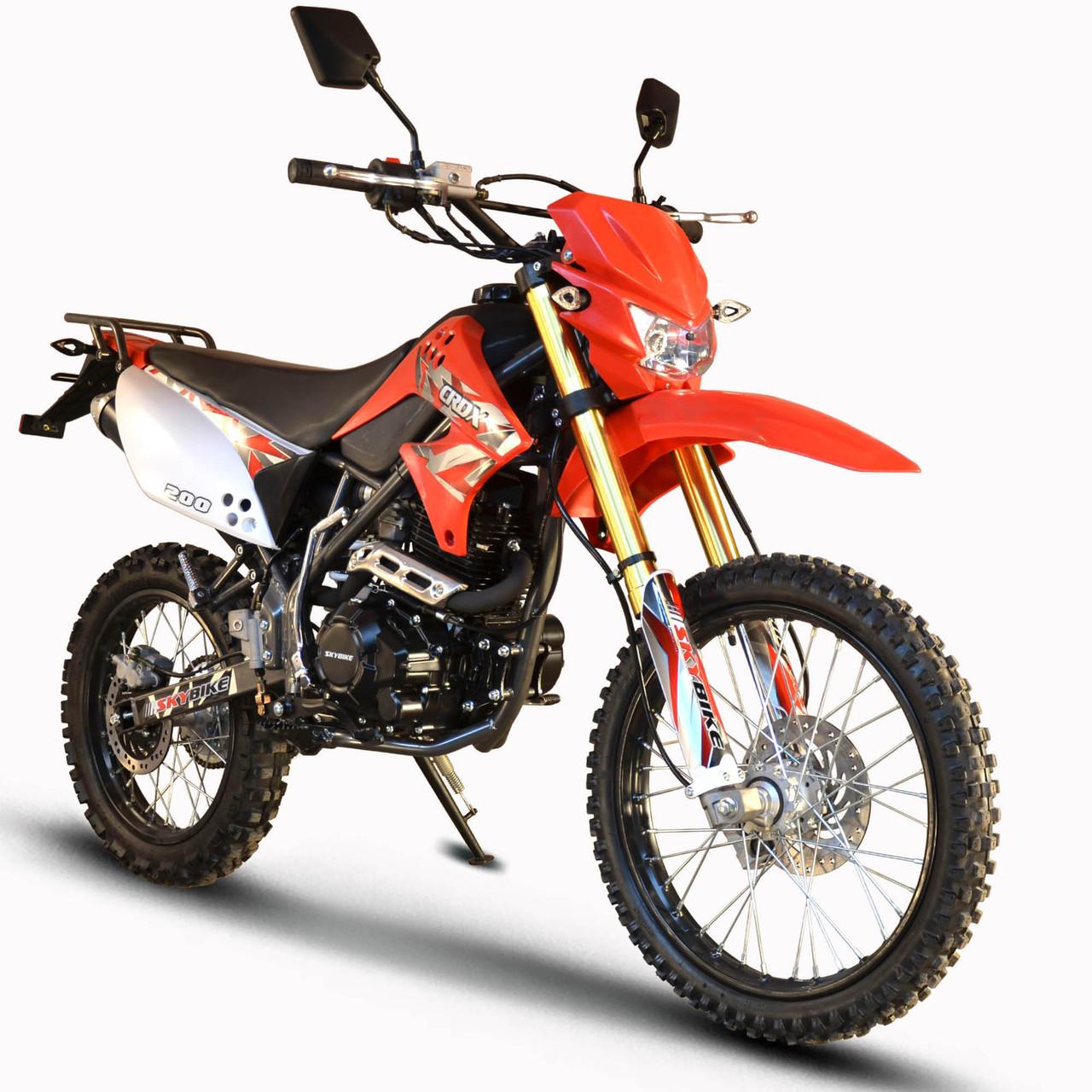 Мотоцикл Skybike CRDX 200 (19-16) Червоний