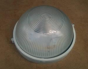Світлодіодний світильник для ЖКГ Lemanso LM975 18W накладної 6500K коло. білий IP65(сауна) Код.58672