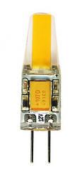 Светодиодная лампа Biom G4 3.5W 2800K 12V в силиконе Код.58695