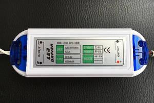 Драйвер для світлодіодів LED-(8-12)х3W IP20 Код. 58729