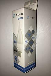 Світлодіодна лампа Z - LIGHT ZL1004 7W С37 E14 4000K (свічка на вітрі) Код.58784
