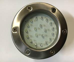Підводний світильник SL-285L 2.3 W 12V 6500К IP68 Код.58794