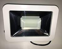 Светодиодный прожектор PREMIUM Slim SMD SL-4008 50W 6500K IP65 белый антибликовый  Код.57015