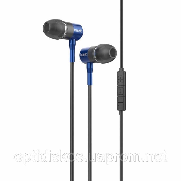 Мобильная гарнитура HAVIT, HV-L670, синяя