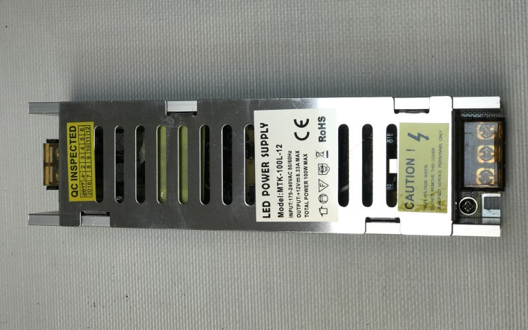 Блок живлення 12В; 8.33 А; 100 Вт LONG IP20 Код.58950