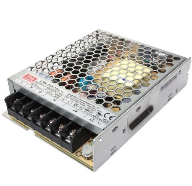 Блок живлення Mean Well LRS-100-12 12В; 8.5 А; 102 Вт IP20 Код.59020