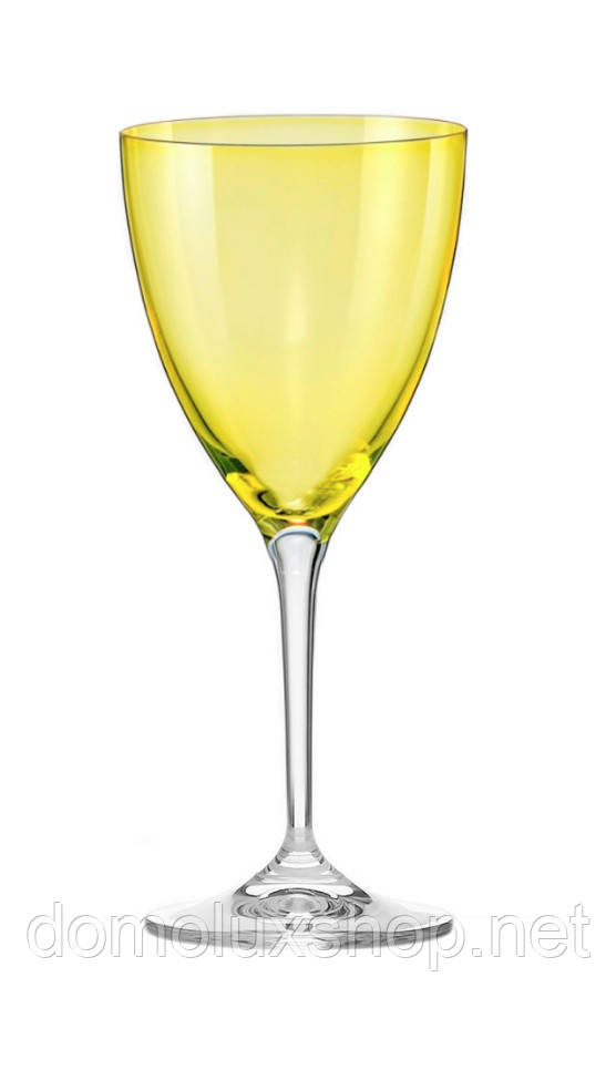 Bohemia Kate Colours Yellow Набор бокалов для вина 2*250 мл (40796 250 382028-2)