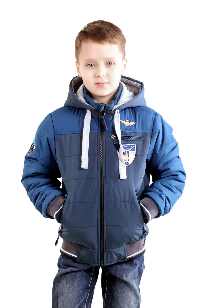 """Дитяча курточка для хлопчика """"Мілітарі"""""""