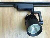 Светодиодный трековый светильник SL-4003 20W 4000К черный Код.58437