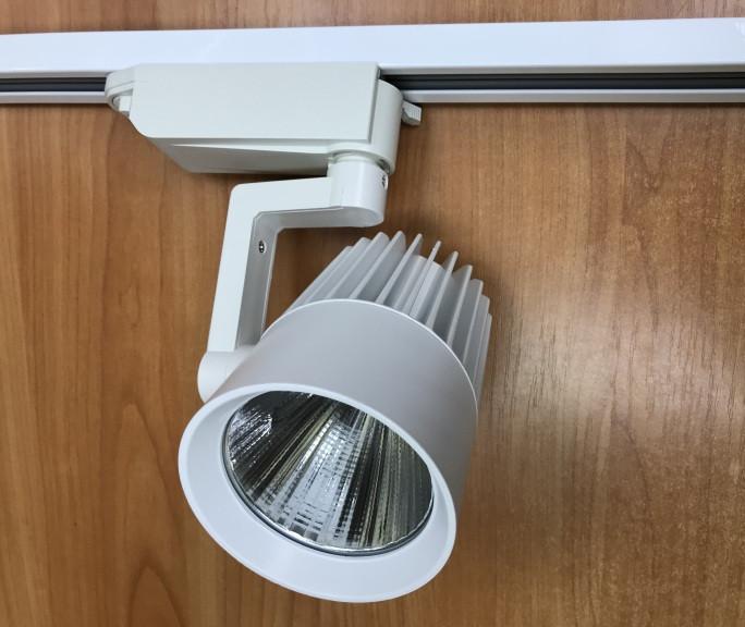 Светодиодный трековый светильник SL-4003 30W 3000К белый Код.58446