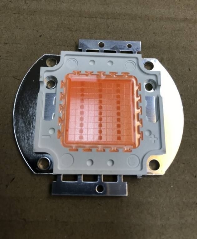 Фіто світлодіод матричний СОВ SL-30F 30W full spectrum led PREMIUM (45Х45 mil) Код.59120