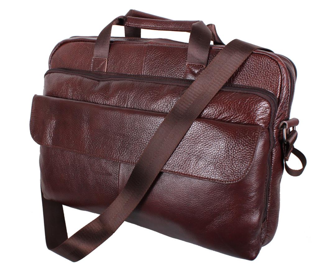 Кожаная сумка для ноутбука и документов 140950
