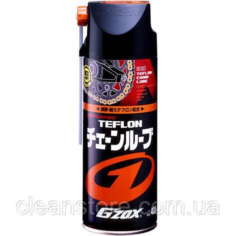 Тефлоновая смазка для цепей TEFLON CHAIN LUBRICANT G'ZOX, 420 мл, фото 2