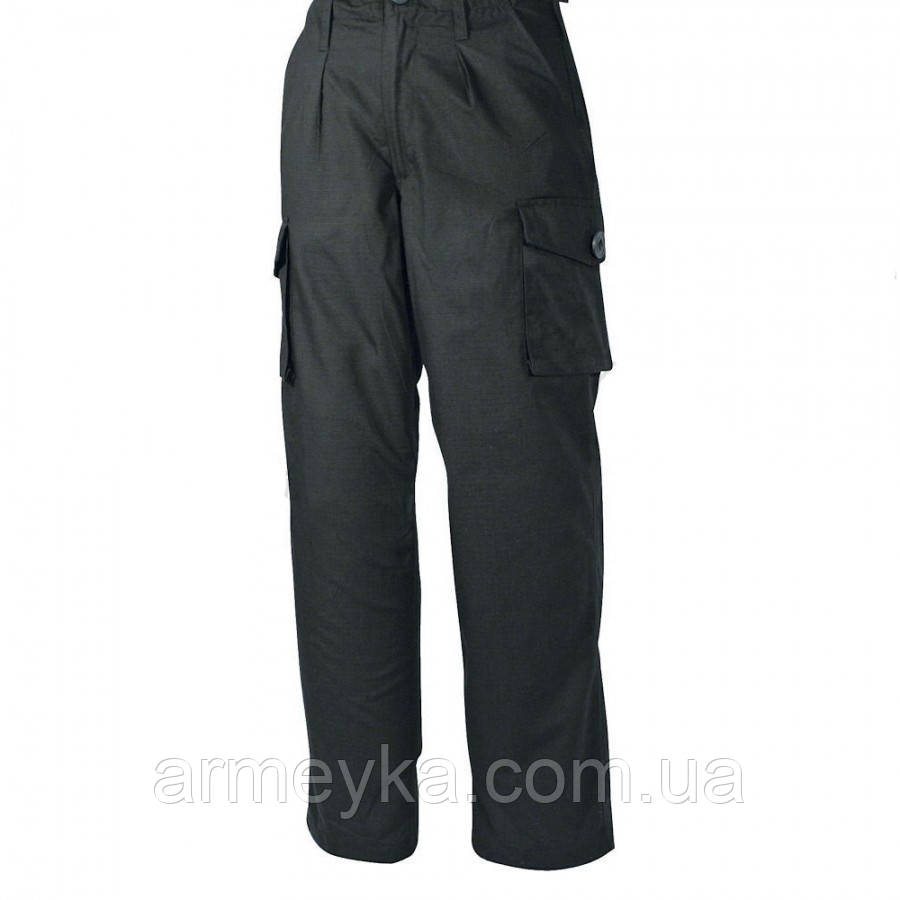 Тактические брюки SAS/Police Ripstop Black Trousers. Великобритания, оригинал., фото 1