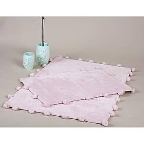 Набор ковриков Irya - Alya pembe розовый 60*90+40*60, фото 2