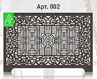 Декоративный экран на радиатор из МДФ