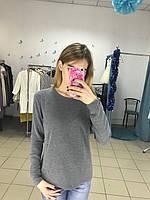 Трикотажный свитер с бусинами