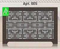 Решетка декоративная  на батарею отопления  из фанеры