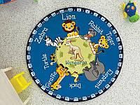Детский ковер ANIMAL PLANET 133 см TM Confetti