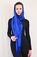 Красивый легкий блестящий длинный шарф.