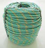 Фал полипропиленовый Ø 10 мм плетеный с сердечником (верёвка)