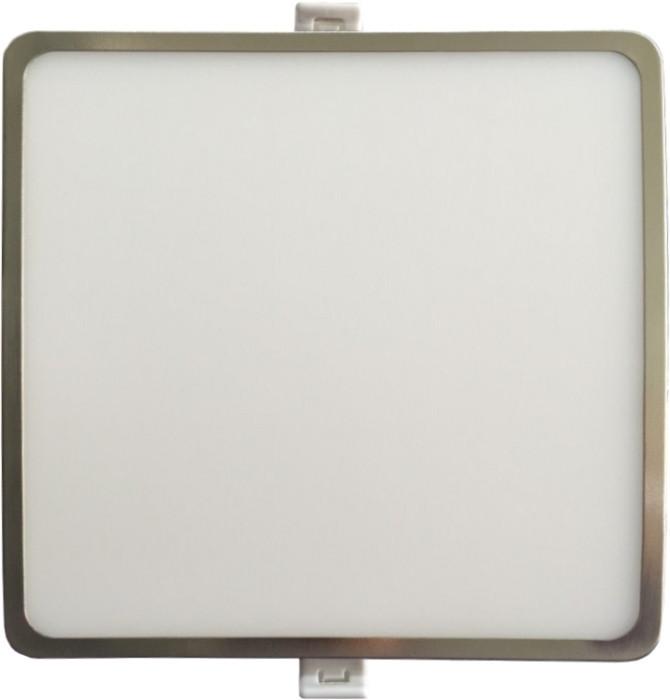 Світлодіодна панель SLIM RIGHT HAUSEN HN-235018 6W 4000K квадратний сатин Код.55295