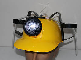 Каска для пива МЧСника с фонарем