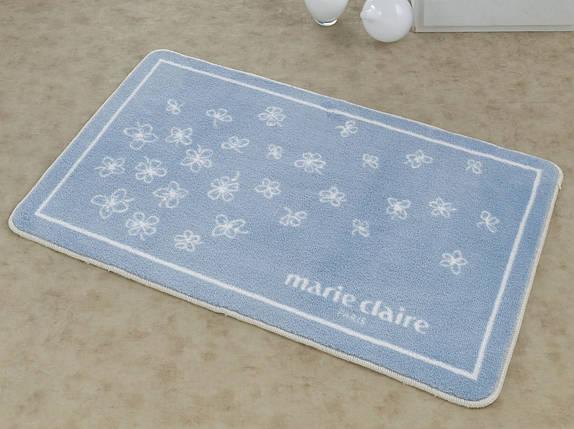 Коврик для ванной Marie Claire - Breeze mavi голубой 66*107, фото 2