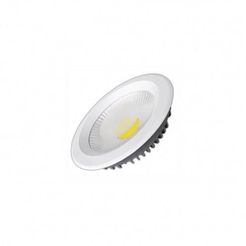 Світлодіодний світильник вбудований Electrum Oscar 10W, 3000K (стельовий) Код.56385
