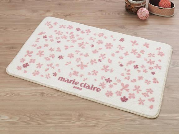 Набор ковриков для ванной Marie Claire - Delight pembe (57*57+57*100), фото 2