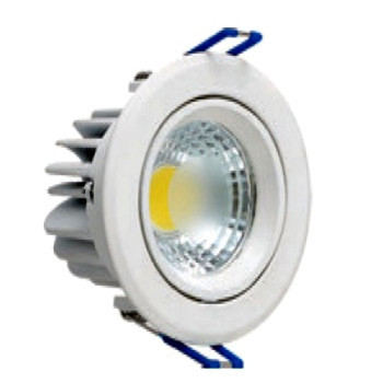 Светодиодный светильник Horoz (HL698L) 3W 2700K кругл. белый поворотный Код.57662