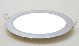 Светодиодная панель LM406 25W 4500К круг.белый Код.57671