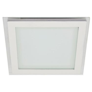 Светодиодный cветильник SEAN SL459 12W 4000K квадрат белый( потолочный, сатурн) Код.57680