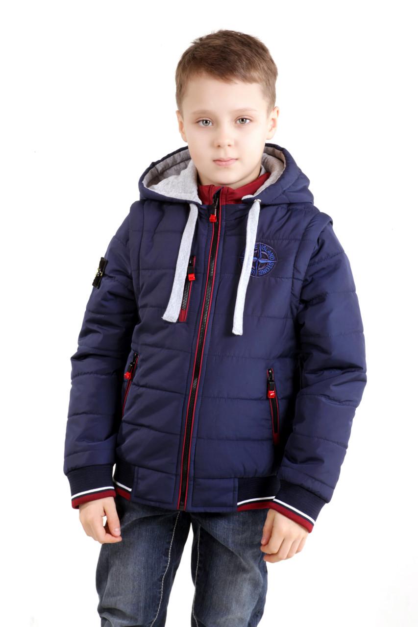 """Детская курточка для мальчика """"Трансформер"""""""