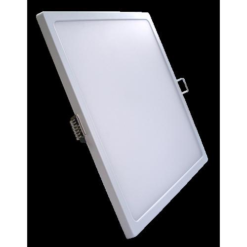 Светодиодная панель SLIM RIGHT HAUSEN HN-235040 24W 4000K квадрат белый Код.57879