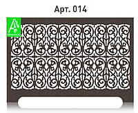 Резная декоративная  панель на батарею отопления из МДФ