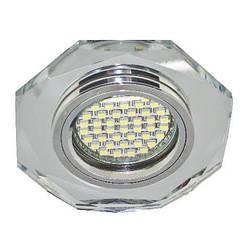 Светодиодный декор. светильник Feron 8020-20 MR16 с LED подсветкой Код.58017