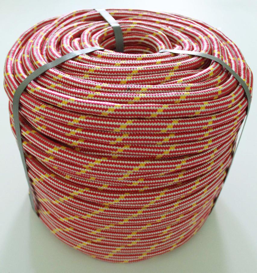 Фал полипропиленовый Ø 12 мм плетеный (фал поліпропіленовий плетений кольоровий)