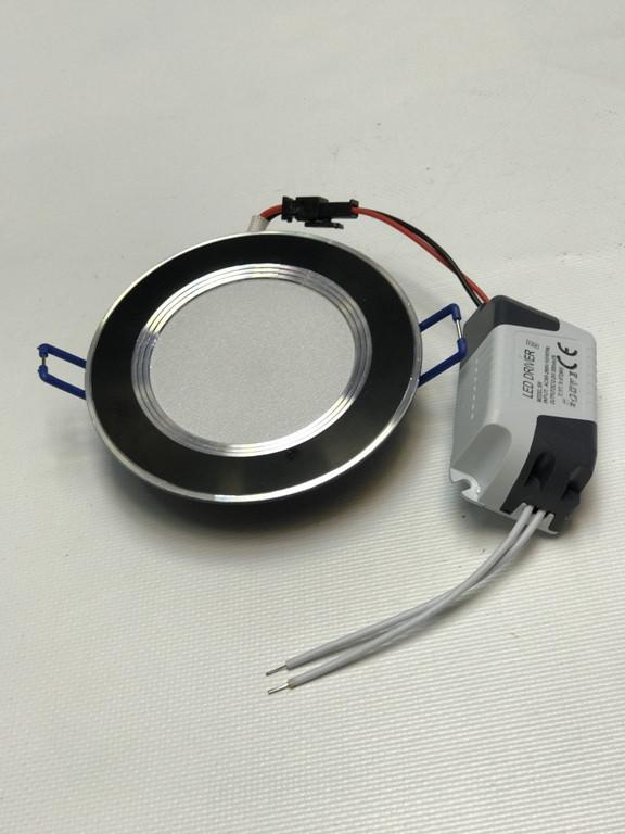 Світлодіодна панель SEAN SL 2006 5W 4000K цілий. чорний Код.58312