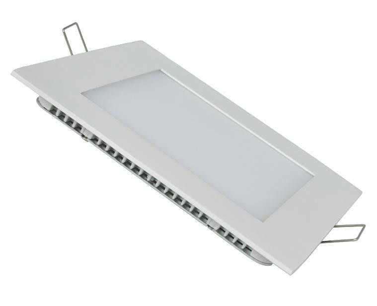 Светодиодная панель SL12 S 12W 3000K  квадрат белый Код.58454