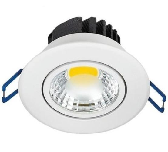 Світлодіодний світильник Horoz HL699LЕ 5W 2700K цілий. білий поворотний Код.58460