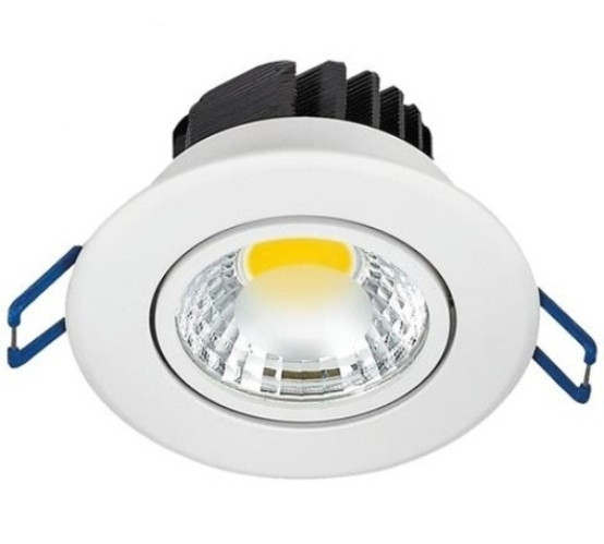 Светодиодный светильник Horoz HL699LЕ 5W 6400K кругл. белый поворотный Код.58461