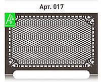 Декоративная решетка на батарею отопления из фанеры