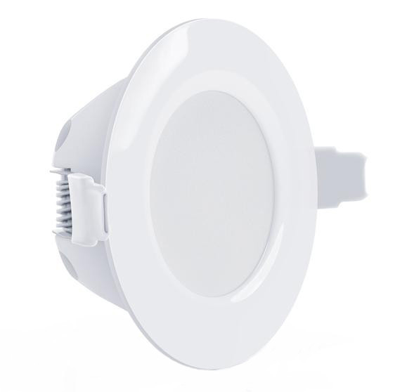 Світлодіодний світильник Maxus SDL 010-01 3W 3000K цілий. білий IP 44 Код.58510