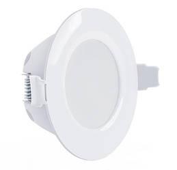 Светодиодный светильник Maxus SDL 010-01 3W 3000K кругл. белый IP 44 Код.58510
