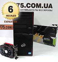 Игровой компьютер Intel Core i7 3.9GHz, RAM 16ГБ, SSD 120ГБ, HDD 500ГБ, GF GTX 1050Ti 4GB, гарантия 6мес на ПК, фото 1