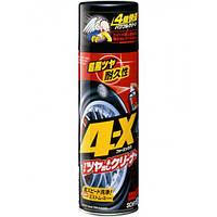 Мощный очиститель для шин 4-X TIRE CLEANER, 470 мл